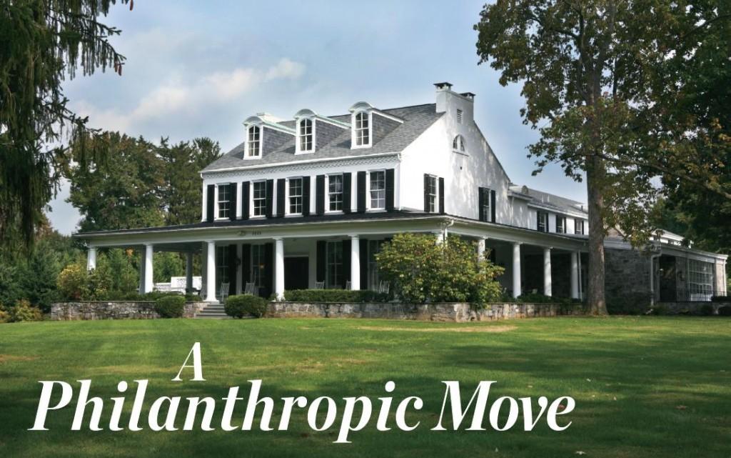 A Philanthropic Move - Lancaster County Magazine