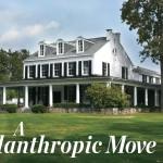 A Philanthropic Move