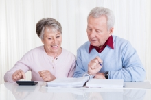 Couple Doing Retirement Planning